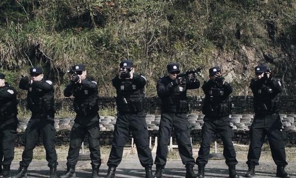 温州机场特警射击训练