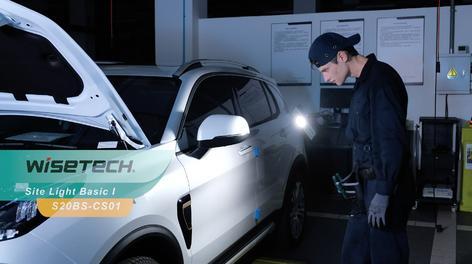 WISETECH工业用灯产品宣传广告