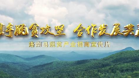 洛南县脱贫产业招商宣传片